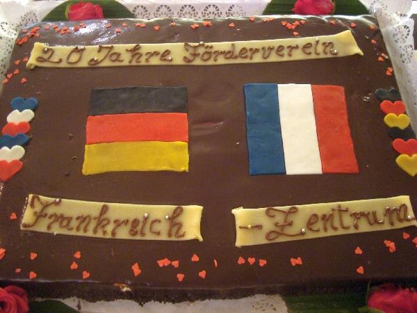 Torte-20 Jahre Förderverein