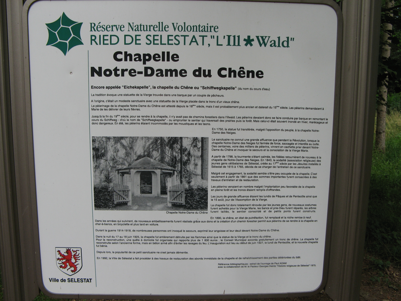 Chapelle de L'Illwald-Legende